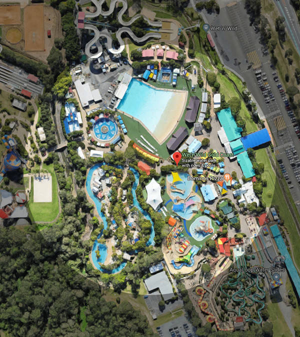 Wet N Wild Gold Coast Map And Park Guide